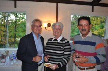 Left-right: Al Stewart, MNC Director; Roseann Sieminski, Dan Sieminski, MNC Director