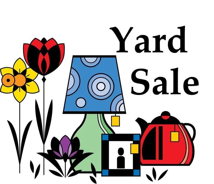 Yard sale \u2013 Mount Olive Lutheran Church