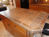 Tile Kitchen Countertop - Tile Design Ideas