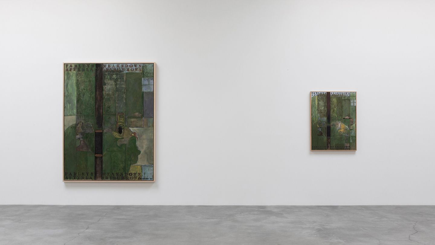 Arte Bella Gallery Jasper Johns Recent Paintings Works On Paper At Matthew Marks