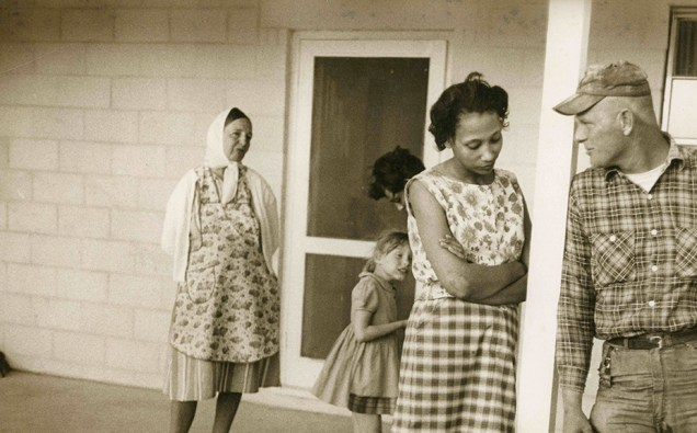 "Mildred Loving, Peggy Loving and Richard Loving in ""The Loving Story"""