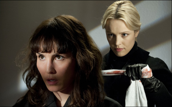 """Noomi Rapace and Rachel McAdams in Brian DePalma's film """"Passion"""""""