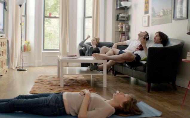 Kate Lyn Sheil, Martin Starr, Ella Rae Peck and Benjamin Pike in Andrew Zuchero's comedy short The Apocalypse