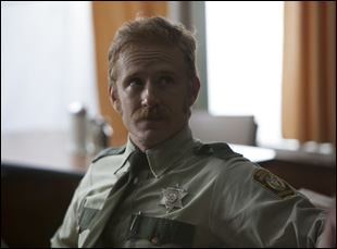 "Ben Foster in David Lowery's film ""Ain't Them Bodies Saints"""