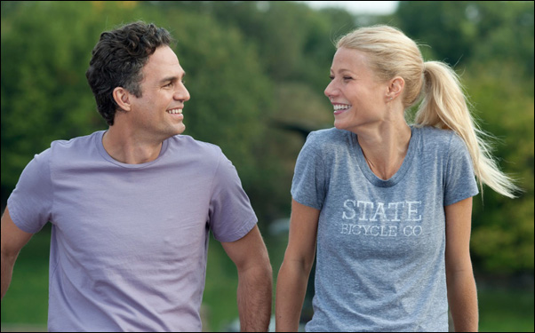 """Gwyneth Paltrow and Mark Ruffalo in Stuart Blumberg's """"Thanks for Sharing"""""""