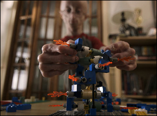 "Sam Berns with his Legos in ""Life According to Sam"""