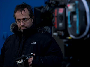 "Jaco Van Dormael on the set of ""Mr. Nobody"""