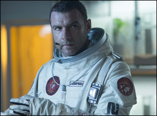 "Liev Schrieber in ""The Last Days on Mars"""