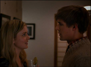 """Rose McIver and Chris Lowell in Maggie Kiley's """"Brightest Star"""""""