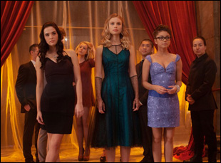 """Lucy Fry, Zoey Deutch and Sarah Hyland in """"Vampire Academy"""""""