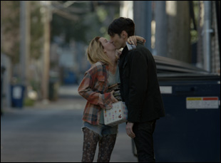 "Kim Shaw and David Dastmalchian in ""Animals"""