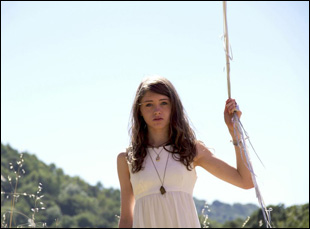"""Natalia Dyer in Leah Meyeroff's """"I Believe in Unicorns"""""""