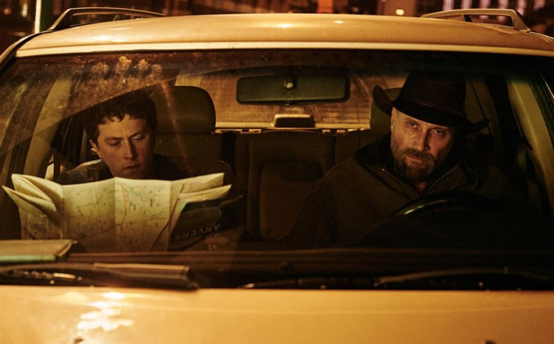 """Francois Damiens and Finnegan Oldfield in """"Les Cowboys"""""""
