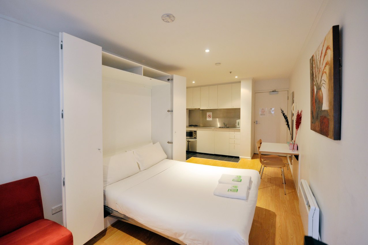Beds For Studio Apartments Studio Apartment 26 Sqm Katz Apartment Melbourne Australia