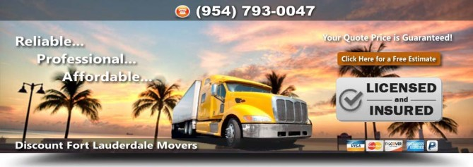 Discount Fort Lauderdale Movers
