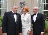 Jim Wesner, Jackie Neuman and John Goering