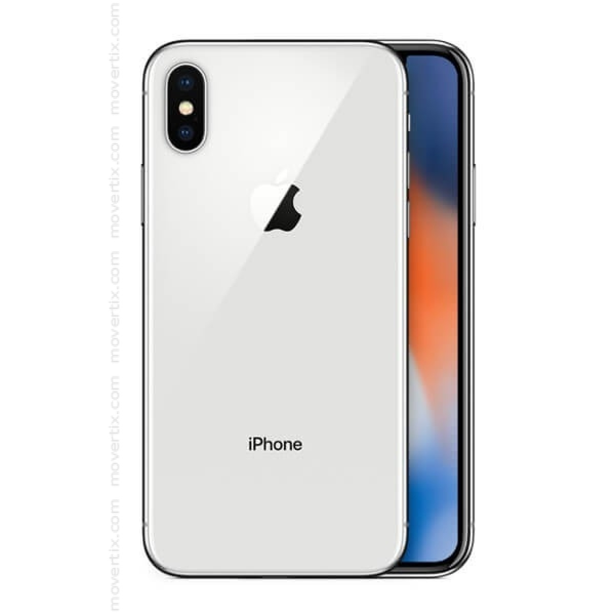 Tiendas De Moviles Libres Apple Iphone X En Plata De 64gb 0190198457509 Movertix