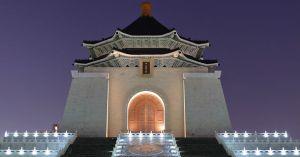 Chiang Kai Shek Memorial Hall at Night