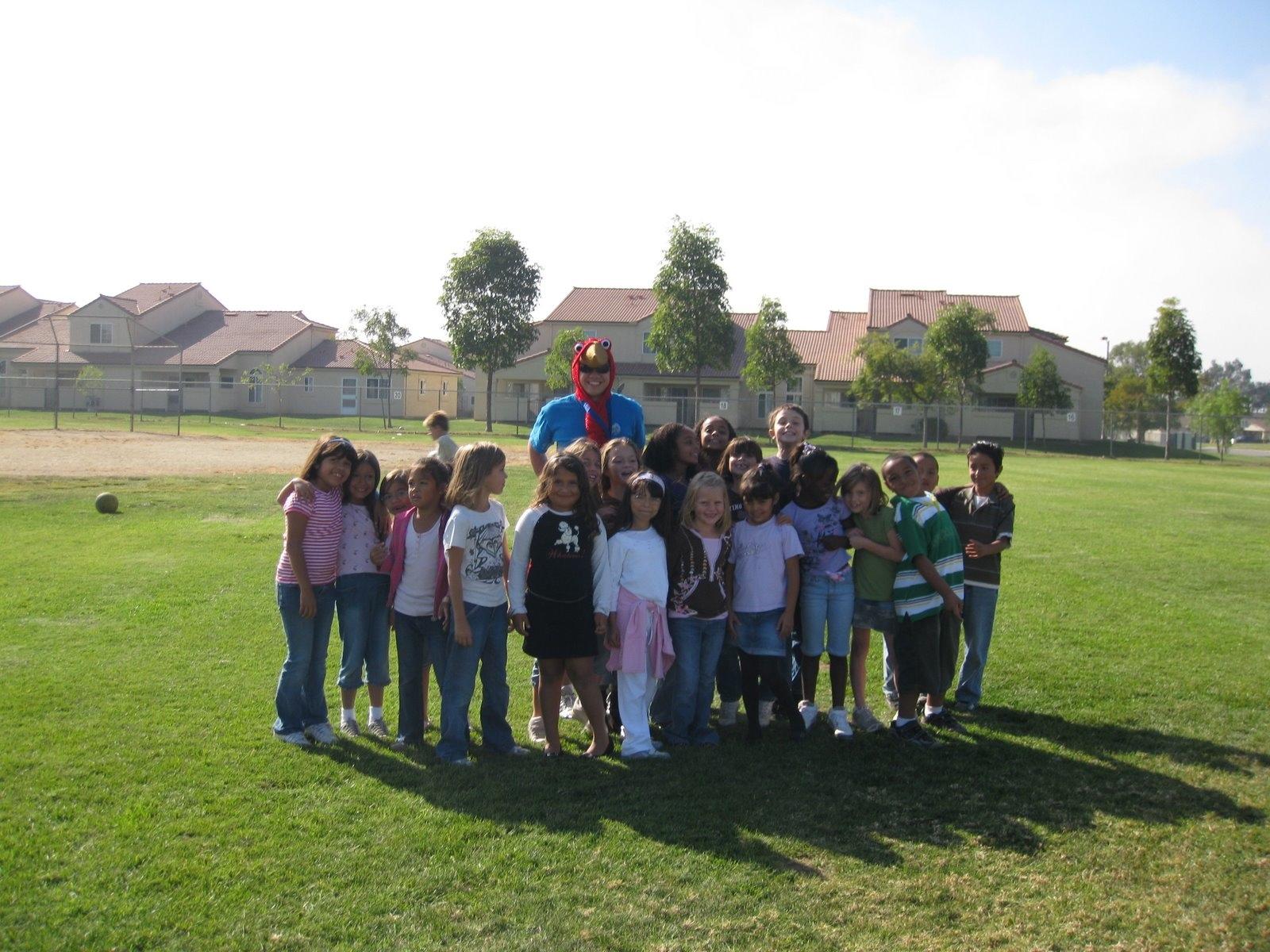 Jon Pham at Elementary school