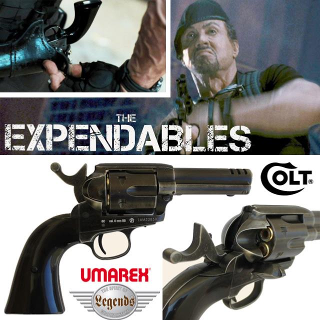 Eclairage Led Cinema The Expendables - Revolver Barney Ross Colt S.a.a. .45