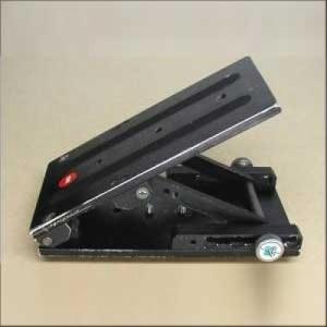 Egripment camera-wedge / tilt plate