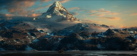 Lonely Mountain from The Hobbit
