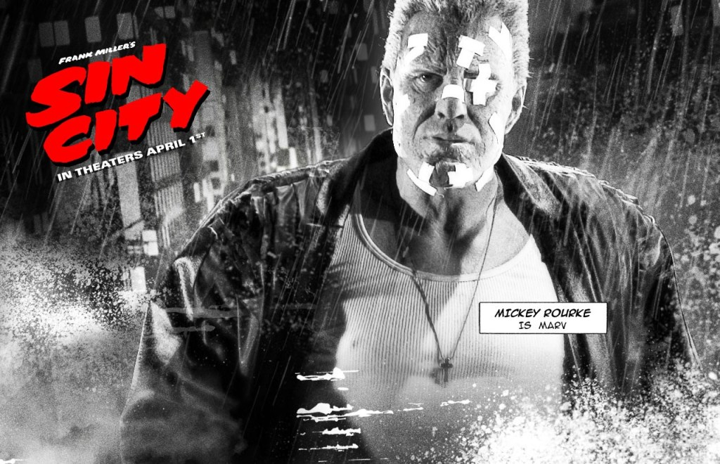 Robert Rodriguez's Sin City Blurs Media, Genre and Style