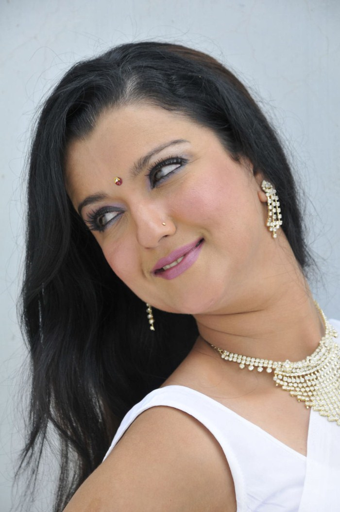 Dj Punjabi Girl Wallpaper Picture 154337 Actress Leena Sidhu In White Saree Stills