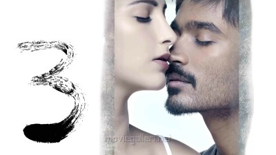 Picture 110513 | Dhanush Shruthi 3 Movie Wallpapers | New Movie Posters
