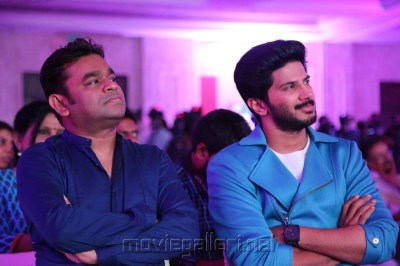 Picture 852828 | AR Rahman, Dulquer Salmaan @ O Kadhal Kanmani Audio Success Press Meet Stills ...