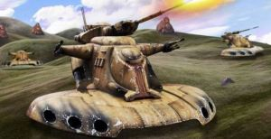 Star Wars Federation Tank Featured Image