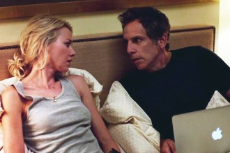 "Naomi Watts and Ben Stiller in ""While We're Young."""