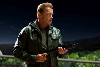 "He's back: Arnold Schwarzenegger in ""Terminator Genisys."""
