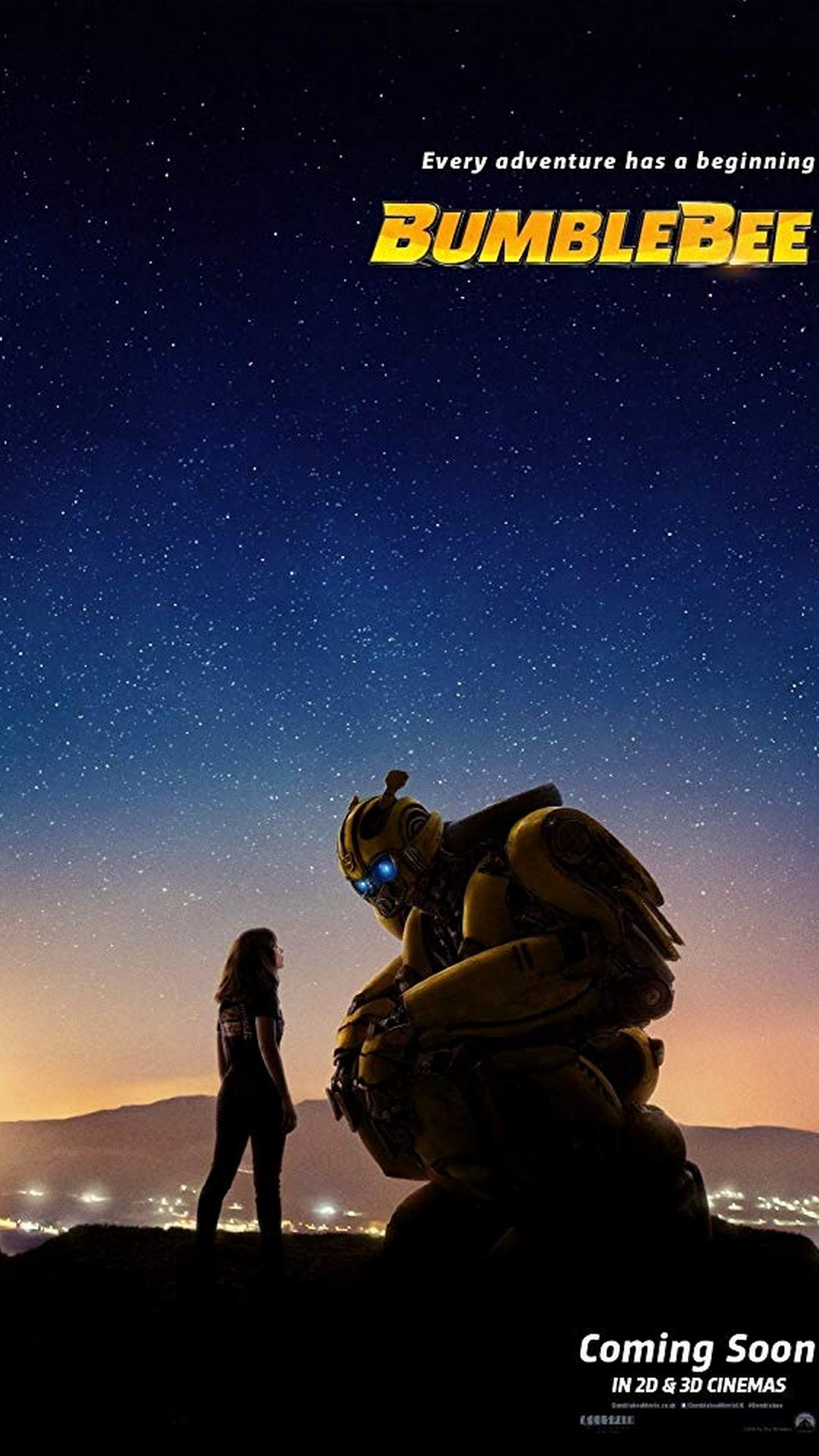Android Wallpaper For Mobile Bumblebee Mobile Wallpaper 2019 Movie Poster Wallpaper Hd