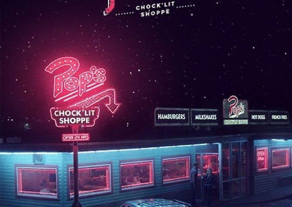 Black Home Wallpaper Pop S Riverdale Diner Audio Atmosphere