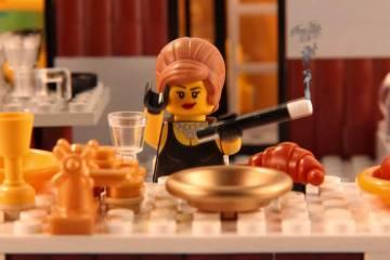 BRICK FLICKS – Famous Film Scenes in Lego!
