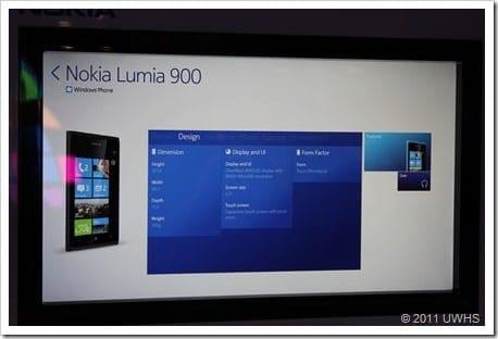 UWHS - Nokia Lumia 900 at CES 2012 - 9