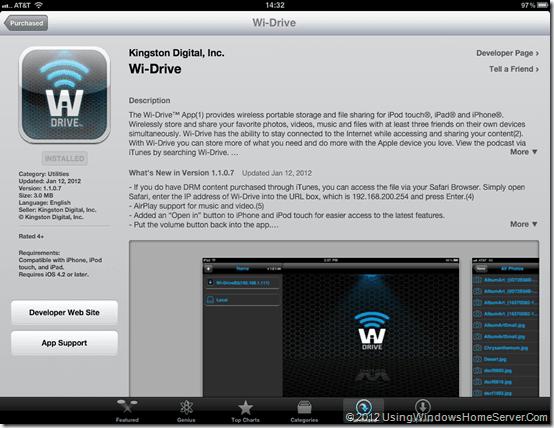 Wi Drive Screen 1