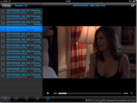 WiDrive Entourage Small Screen