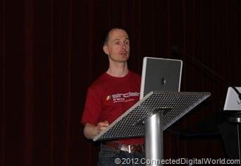 CDW at Sci Fi London Horizons 6th May 2012 042