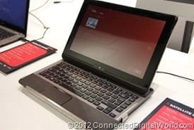 CDW - A closer look at the Toshiba Satellite U920t Convertible Ultrabook - 2
