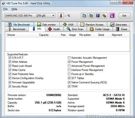 CDW Review of the Samsung SSD 840 Pro - 6