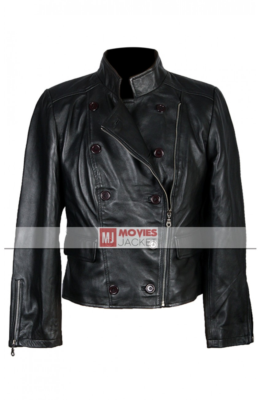 Umbrella Academy Bella Swan Leather Jacket | The Twilight Saga Breaking