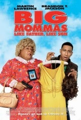 Big Mommas: Like Father, Like Son Poster