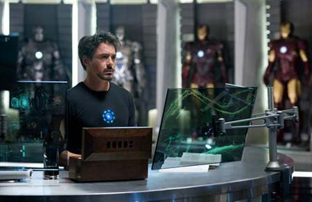 Esta fue la primera foto oficial de Ironman 2.