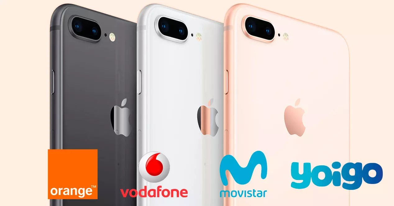 Moviles Libres A Plazos Precio Del Iphone 8 Y 8 Plus Con Movistar Orange Vodafone Y Yoigo