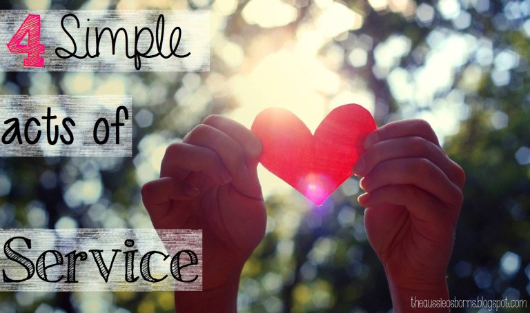 Simple Acts of Service | Guest Post | Moving Peaces