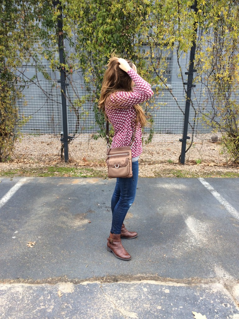 Thrifted Outfit of the Day | Moving Peaces