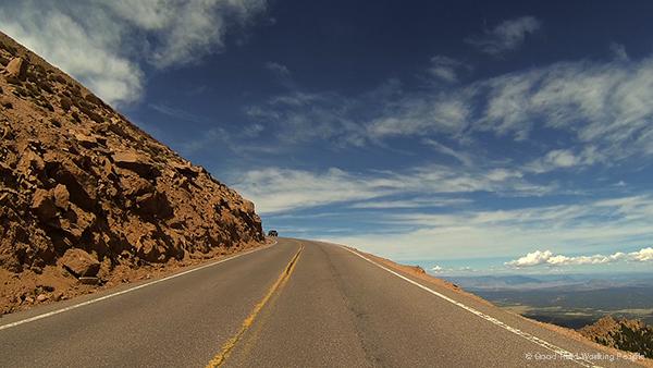 Fall In Colorado Wallpaper Driving Up Pikes Peak Highway In A Colorado Minute Week