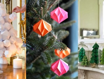 DIY : Notre sélection de décorations de Noël à faire soi-même